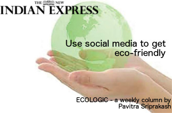ECOLOGIC: Use social media to get eco-friendly