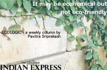 ECOLOGIC: It may be economical but not eco-friendly