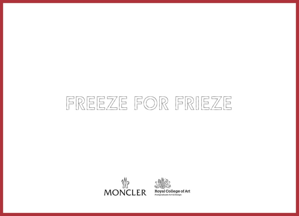 Freeze for Frieze 1
