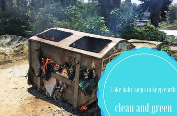 ECOLOGIC: Take baby steps to keep earth clean and green