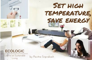 ECOLOGIC: Set high temperature, save energy