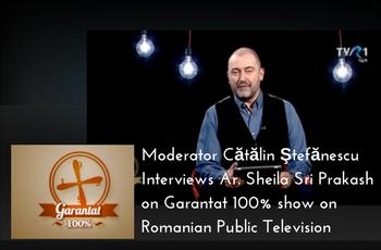 Romanian Public Television Interview: Cătălin Ştefănescu