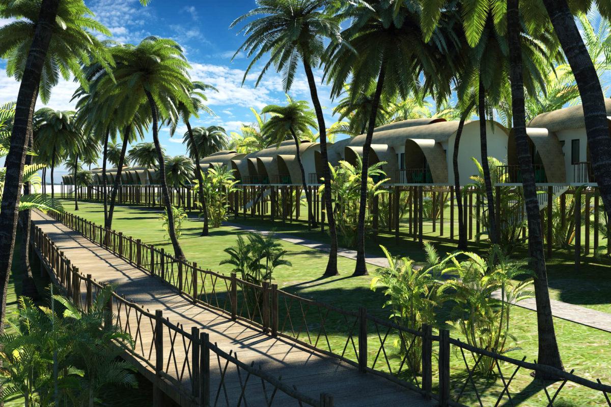 APTDC Backwater Resort Cottage View 2