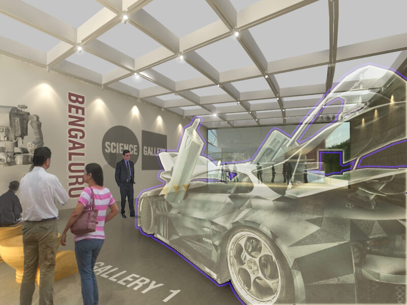 Art and Science Gallery Interior 4