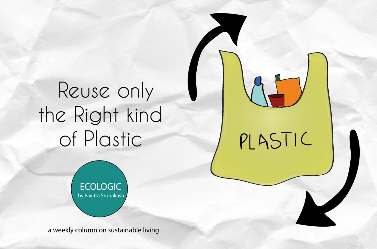 Reuse only the right kind of plastic