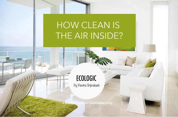 How clean is the air inside?