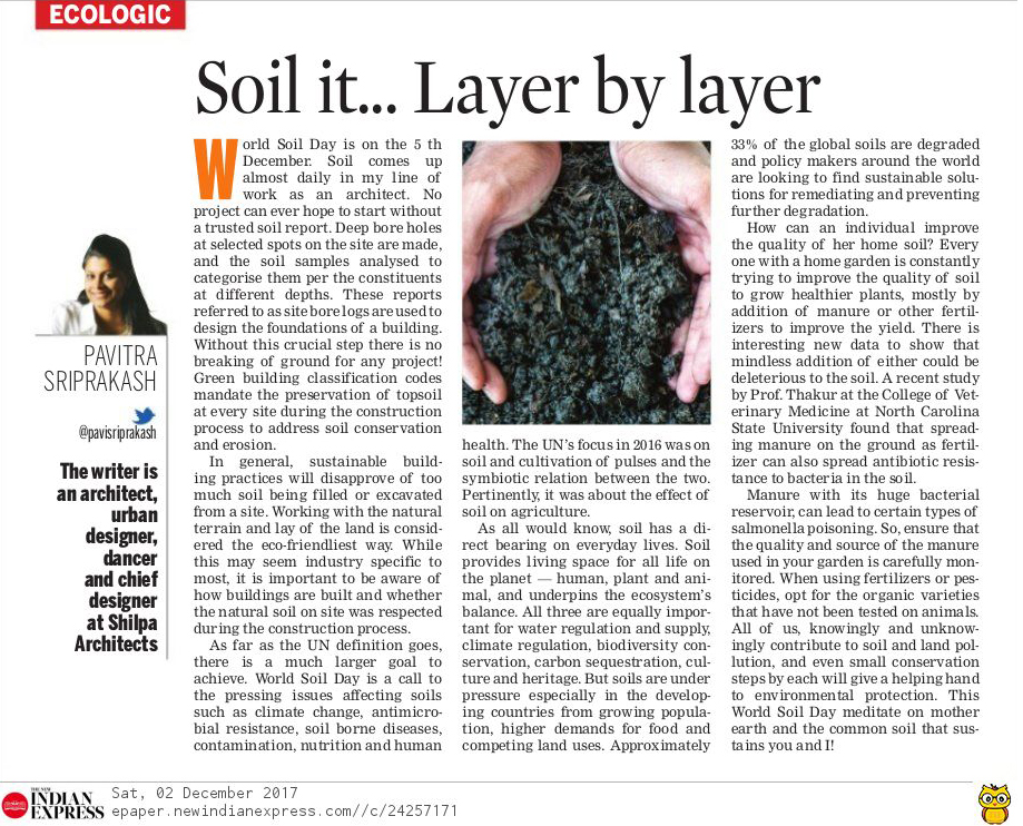 world soil day - ecologic
