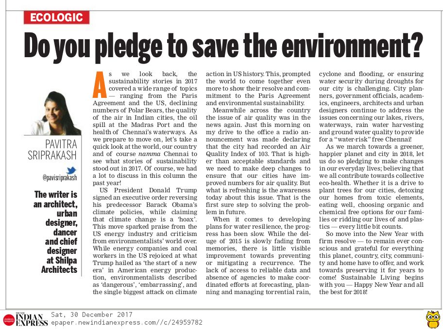 Ecologic article Article 30Dec 2017