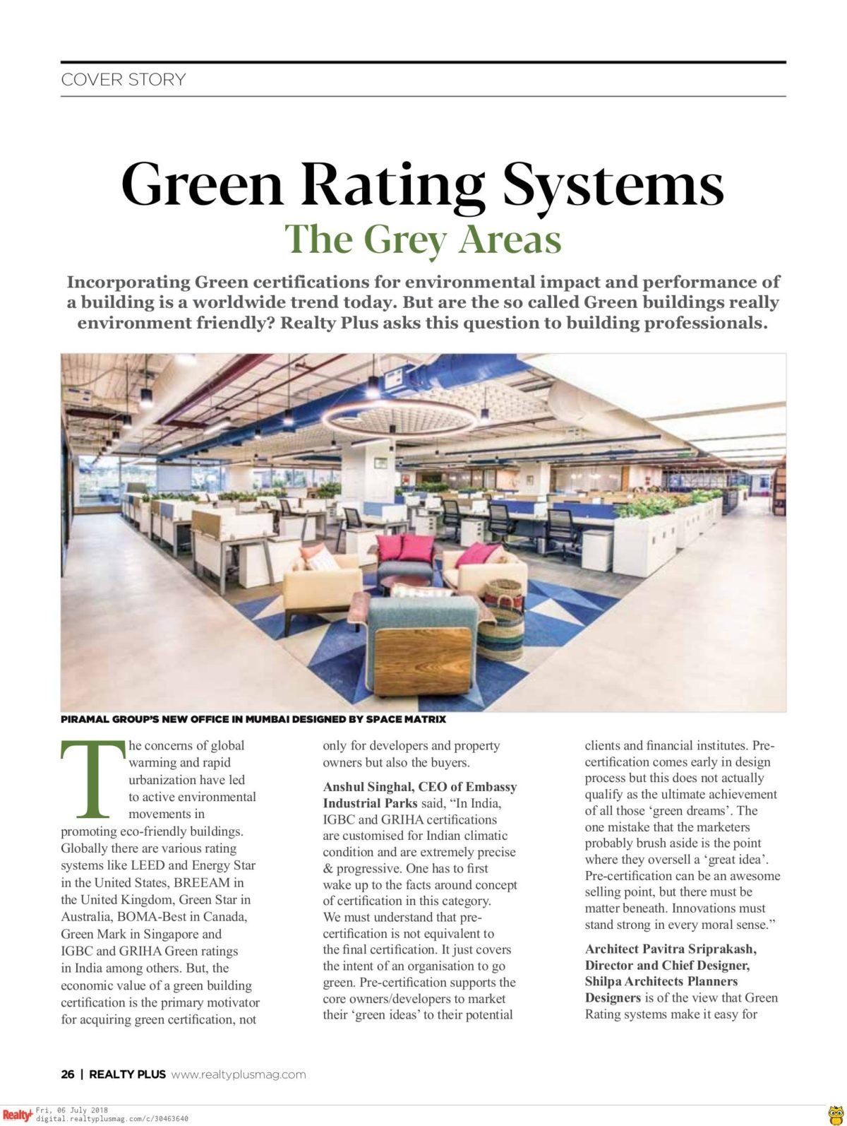 Realty Plus June 2018 - Page 26