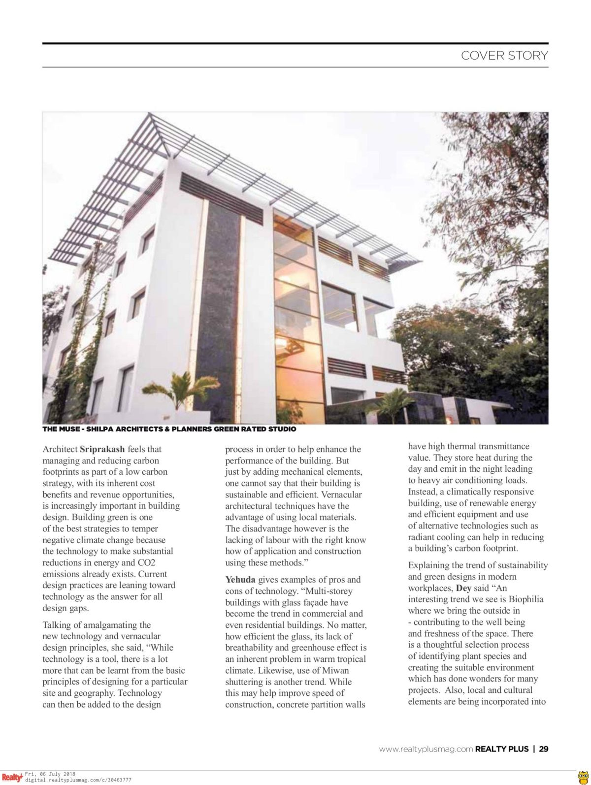 Realty Plus June 2018 - Page 29