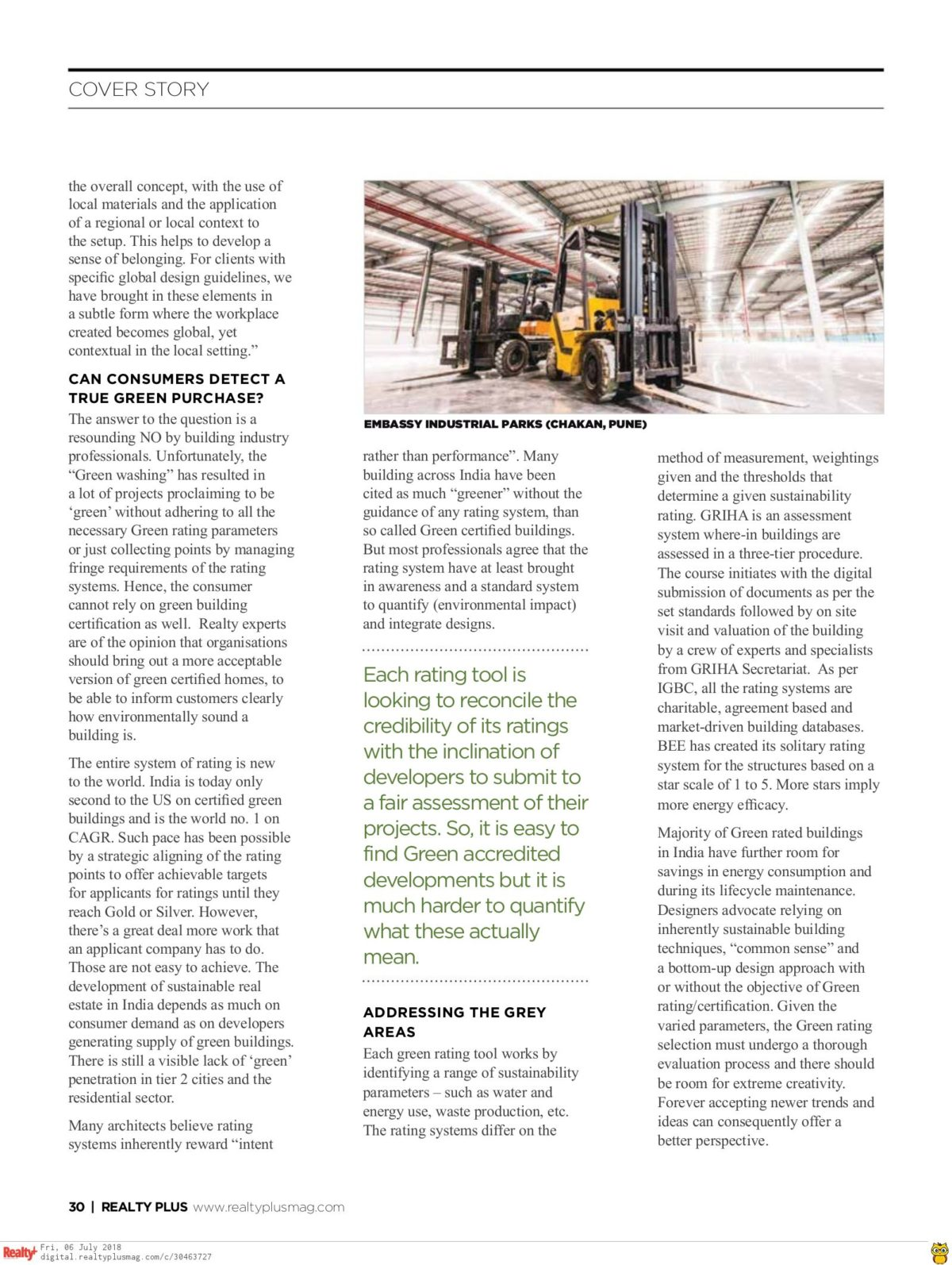 Realty Plus June 2018 - Page 30