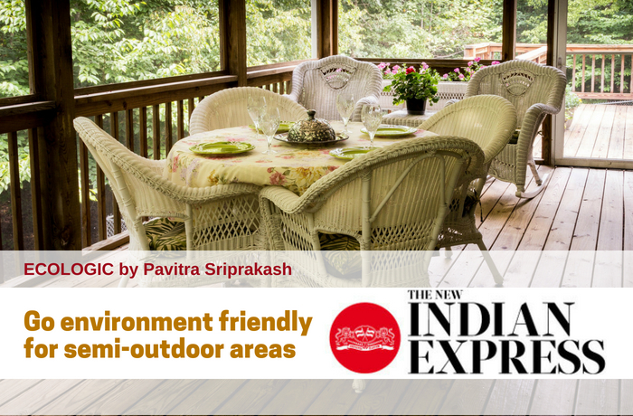 ECOLOGIC: Go environment friendly for semi-outdoor areas