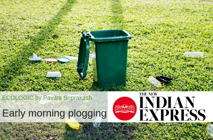 ECOLOGIC: Early morning plogging