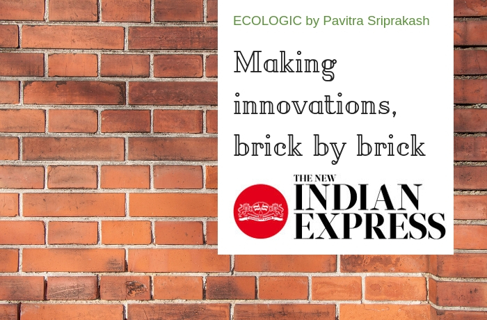 ECOLOGIC: Making innovations, brick by brick