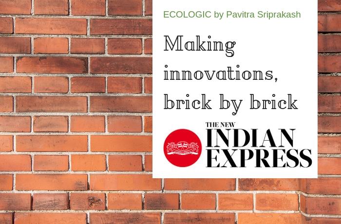 ECOLOGIC: Making innovations, brick by brick