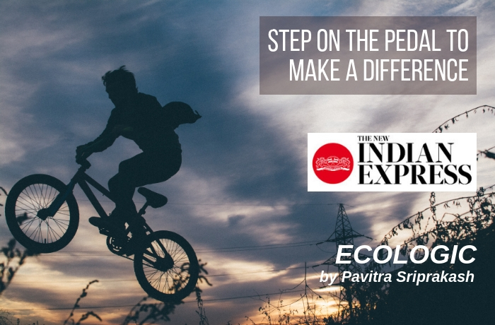 ECOLOGIC: Step on the pedal to make a difference
