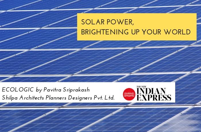 ECOLOGIC: Solar power, brightening up your world