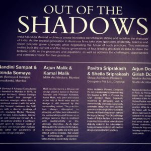FAB biennale 2018-19-OUT OF THE SHADOWSS