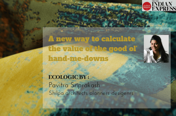 ECOLOGIC : A new way to calculate the value of the good ol' hand-me-downs