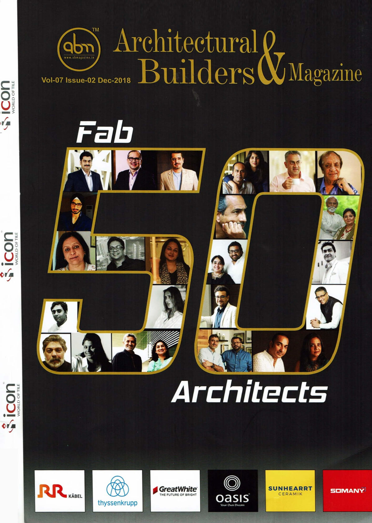 FAB 50 ARCHITECTS - PAVITRA SRIPRAKASH OF SHILPA ARCHITECTS