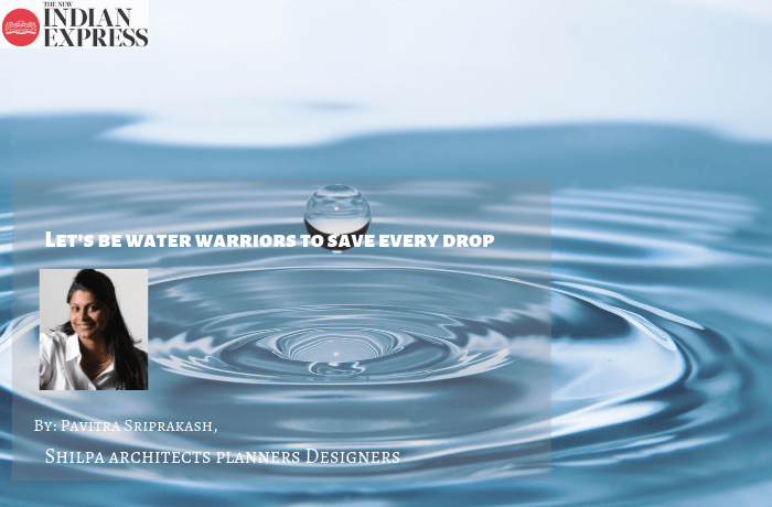 ECOLOGIC : Let's be water warriors to save every drop