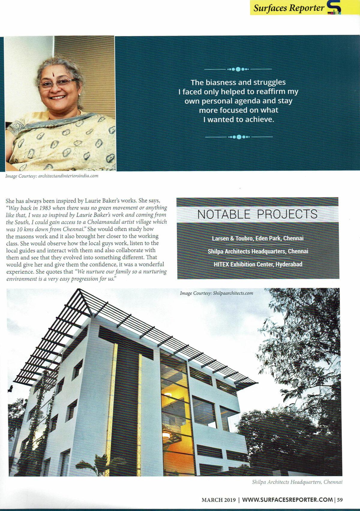 Shilpa Architects Headquarters,Chennai
