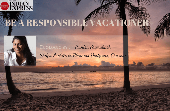 ECOLOGIC : Be a responsible vacationer