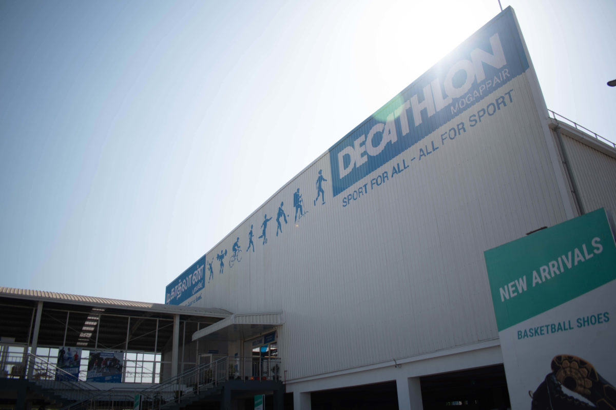 Decathlon by Shilpa architects planners designers is the french sporting goods retailer with close to 70 stores in India.