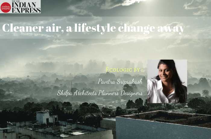 ECOLOGIC : Cleaner air, a lifestyle change away