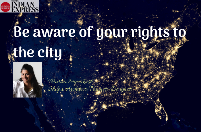 ECOLOGIC : Be aware of your rights to the city