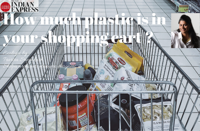 ECOLOGIC : How much plastic is in your shopping cart ?