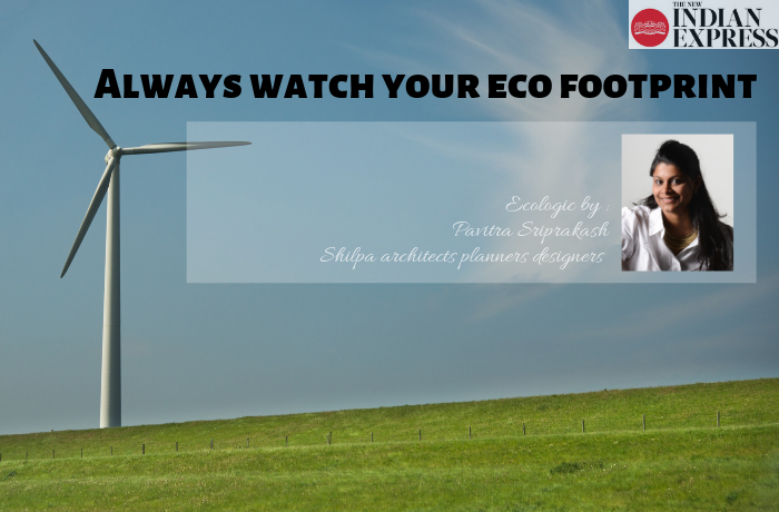 ECOLOGIC : Always watch your eco footprint