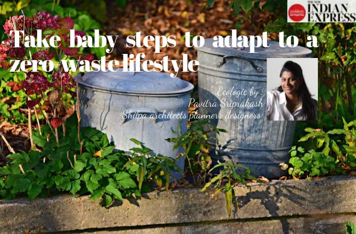 ECOLOGIC : Take baby steps to adapt to a zero-waste lifestyle