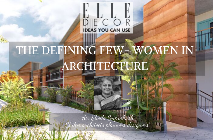 The Defining Few – Women in architecture