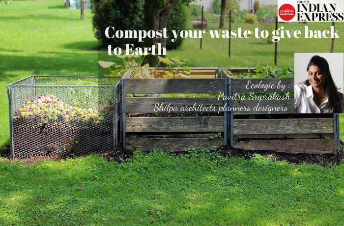 ECOLOGIC : Compost your waste to give back to earth
