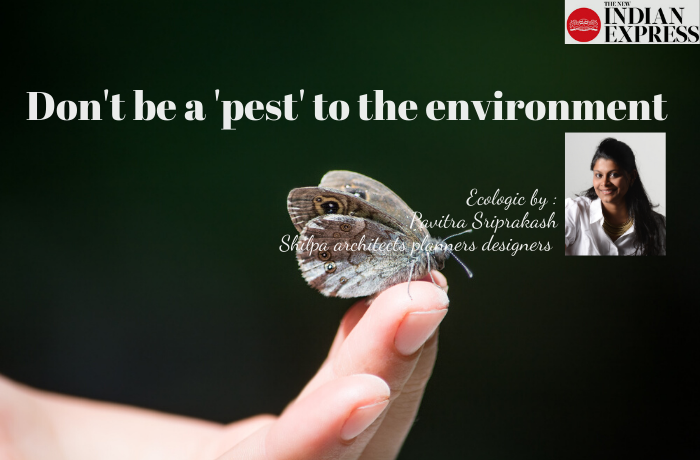 ECOLOGIC : Don't be a 'pest' to the environment