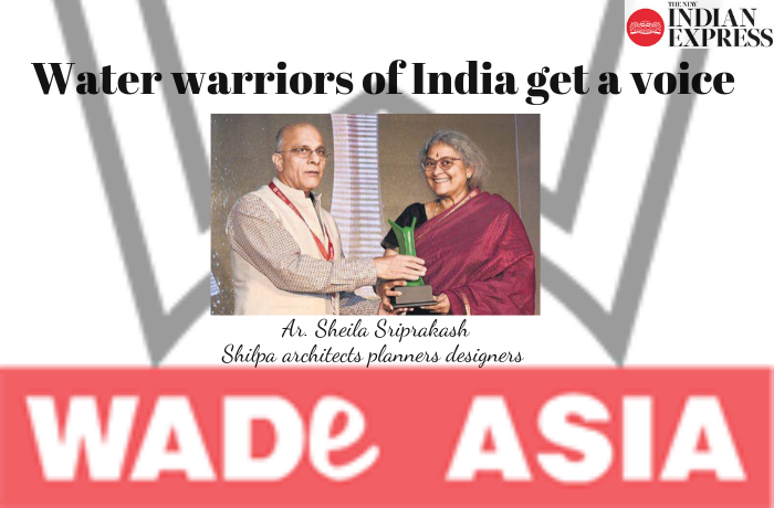 Water warriors of India get a voice