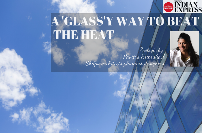 ECOLOGIC : A 'Glass'y way to beat the heat