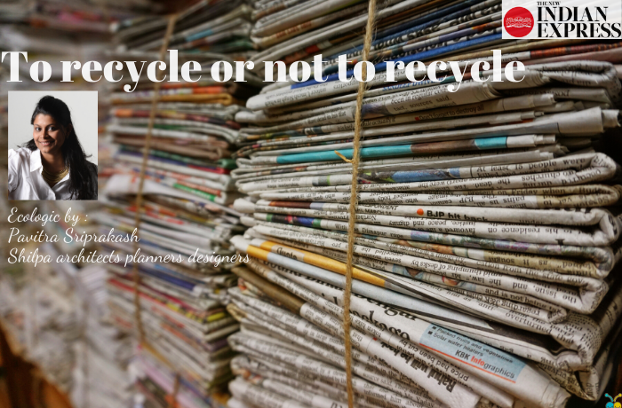 ECOLOGIC : To recycle or not to recycle