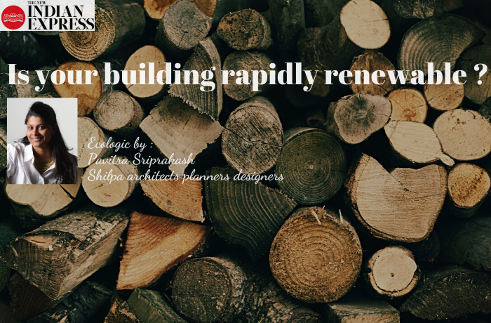 ECOLOGIC : IS YOUR BUILDING RAPIDLY RENEWABLE ?