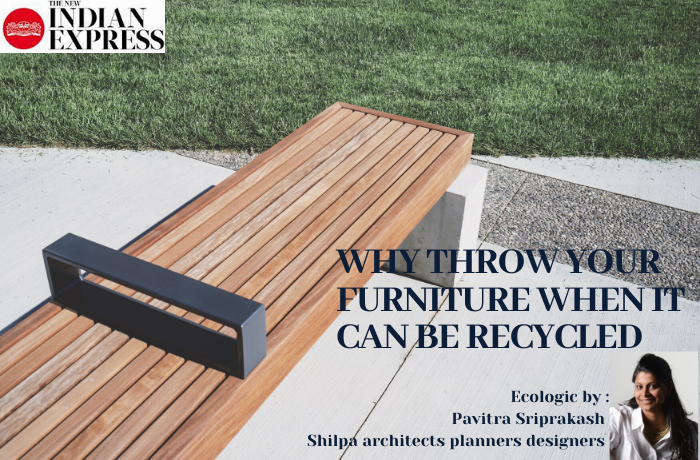 ECOLOGIC : WHY THROW YOUR FURNITURE WHEN IT CAN BE RECYCLED